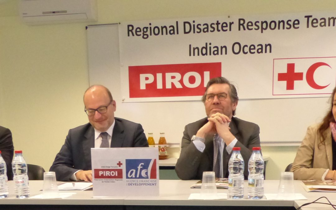 CEO of the French Development Agency visits PIROI