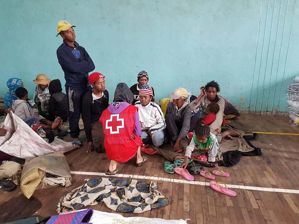 La Croix-Rouge malgache porte assistance aux sinistrés
