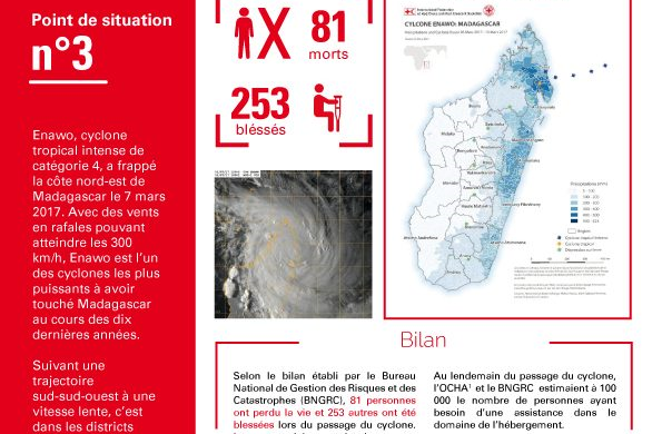 Cyclone Enawo: Point de situation n°3