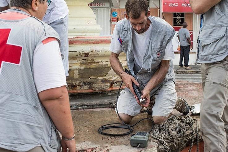 La Croix-Rouge française se déploie massivement dans les Caraïbes