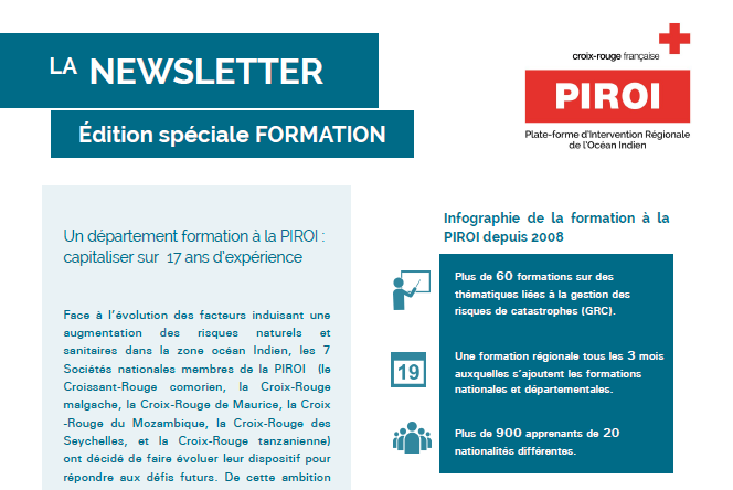 Newsletter Formation n°1