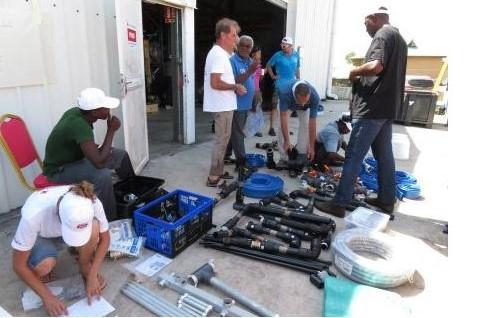 Renforcement des capacités de traitement d'eau à Mayotte
