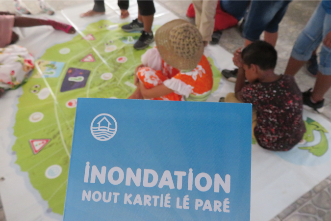 Le projet « Inondation, Nout kartié lé paré ! » finit ses actions avec un bilan positif