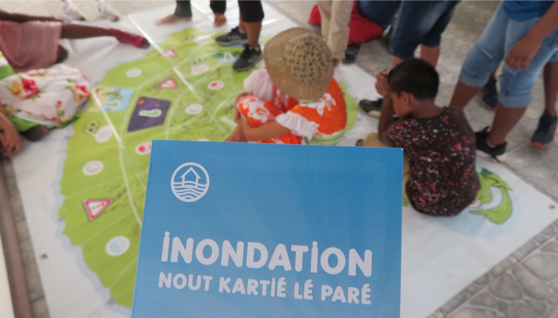 The flood awareness-raising project 'Nout kartié lé paré!' concludes on a positive note