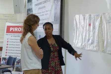 Climate change: 1st regional training course for Red Cross teams in the Indian Ocean