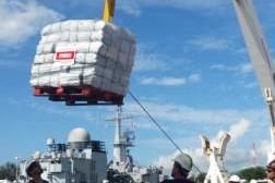 Le stock déployé par la PIROI est arrivé à Madagascar