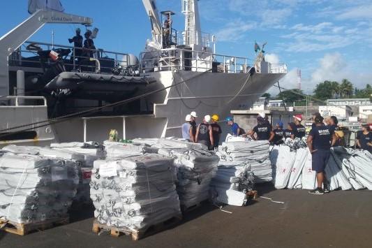 La PIROI déploie ses stocks après le passage d'Enawo