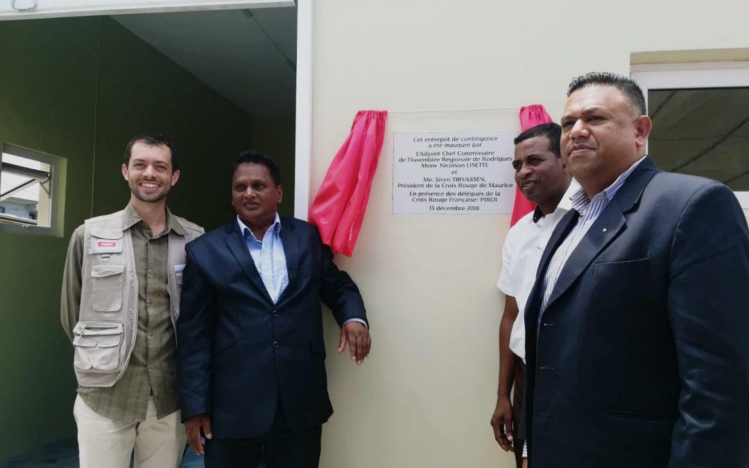 Un entrepôt de contingence pour répondre aux catastrophes à Rodrigues