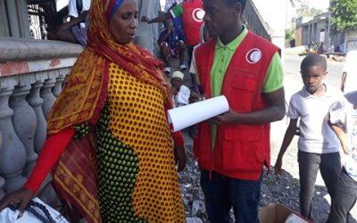 Urgence aux Comores : Younoussa, volontaire du Croissant-Rouge comorien partage son expérience
