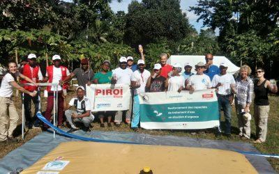 Formation traitement de l'eau en situation d'urgence à Mayotte