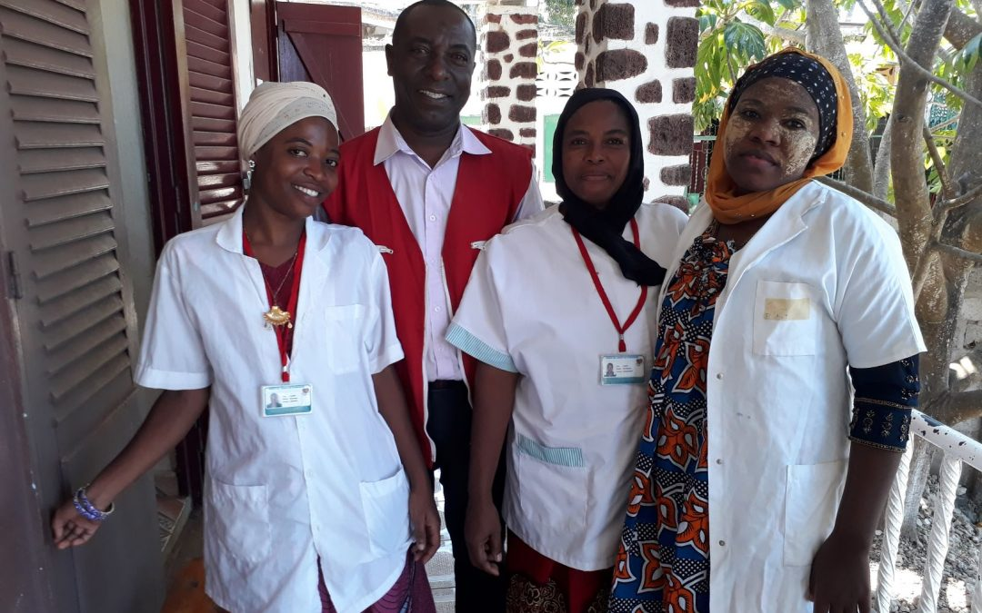 Comoros: FRC and AFD forge a closer partnership to improve the quality of care by strengthening community health