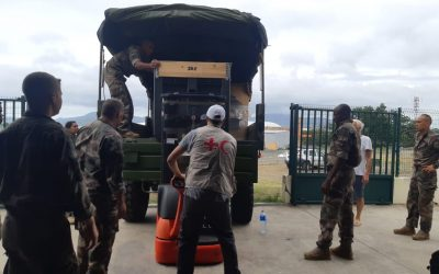Cyclone Belna: Mobilisation of the PIROI delegation in Mayotte