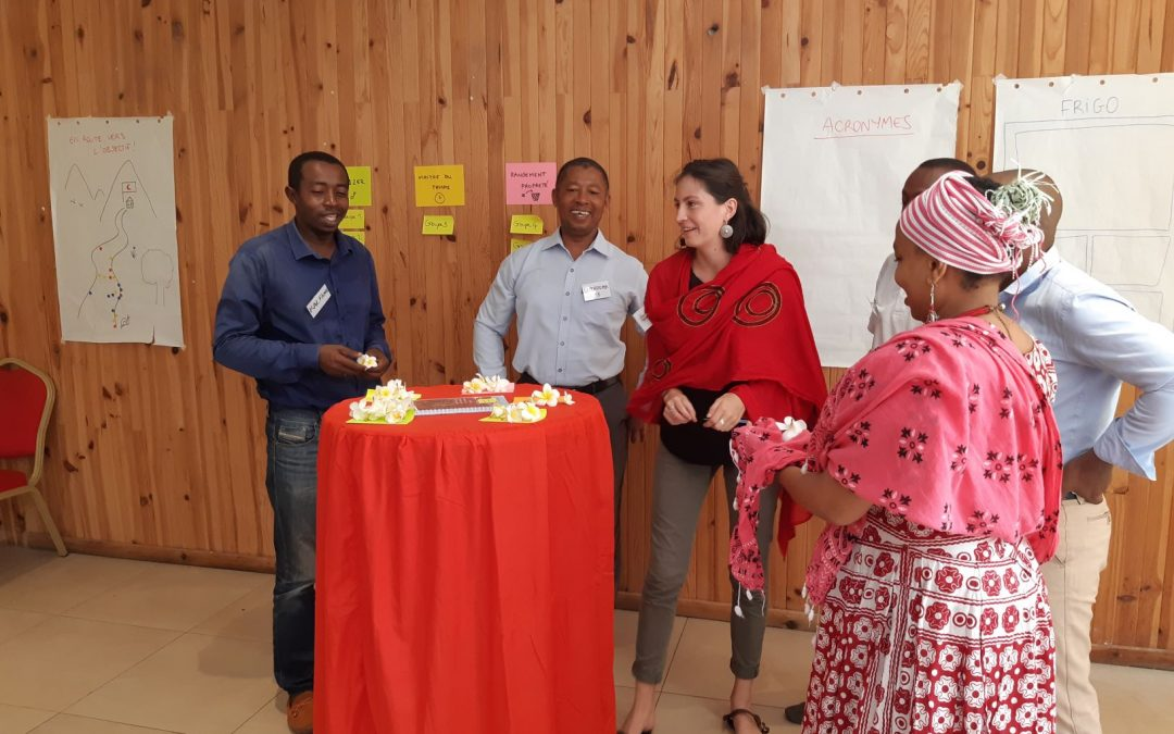 In Moroni,  PIROI trains humanitarian professionals in project management