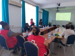 Formation des volontaires au COVID-19 et aux Premiers Secours Psychologiques