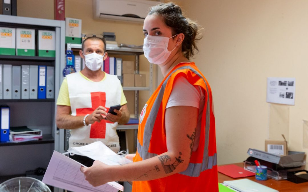 COVID-19: The French Red Cross mobilized in Reunion island