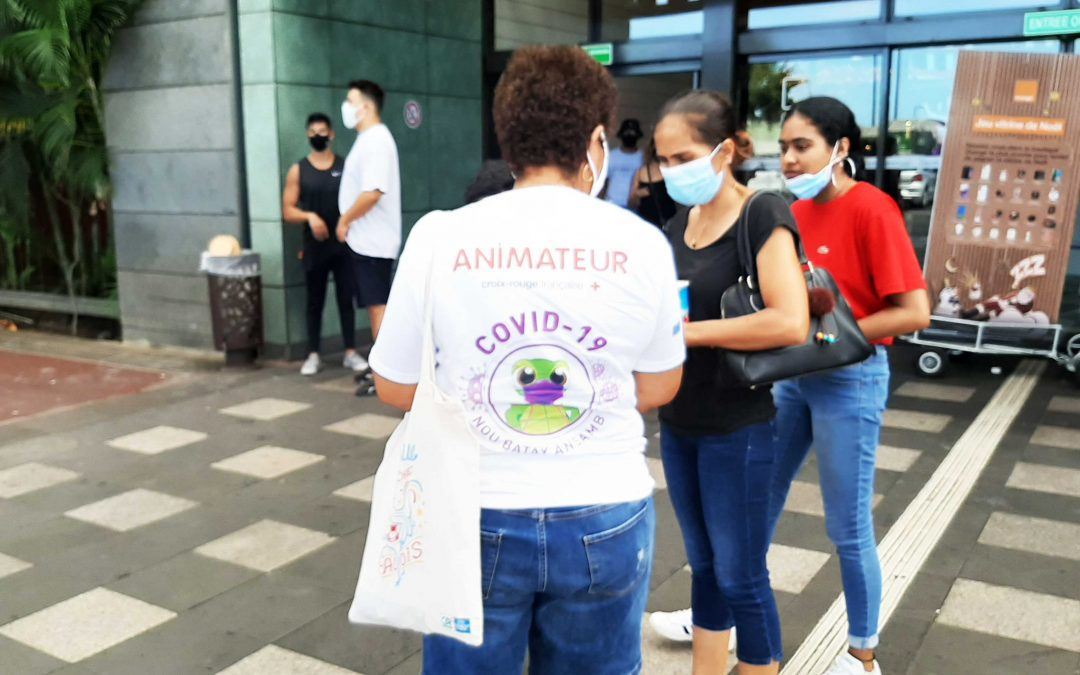 PIROI raises awareness in reunion about covid-19 and protective measures