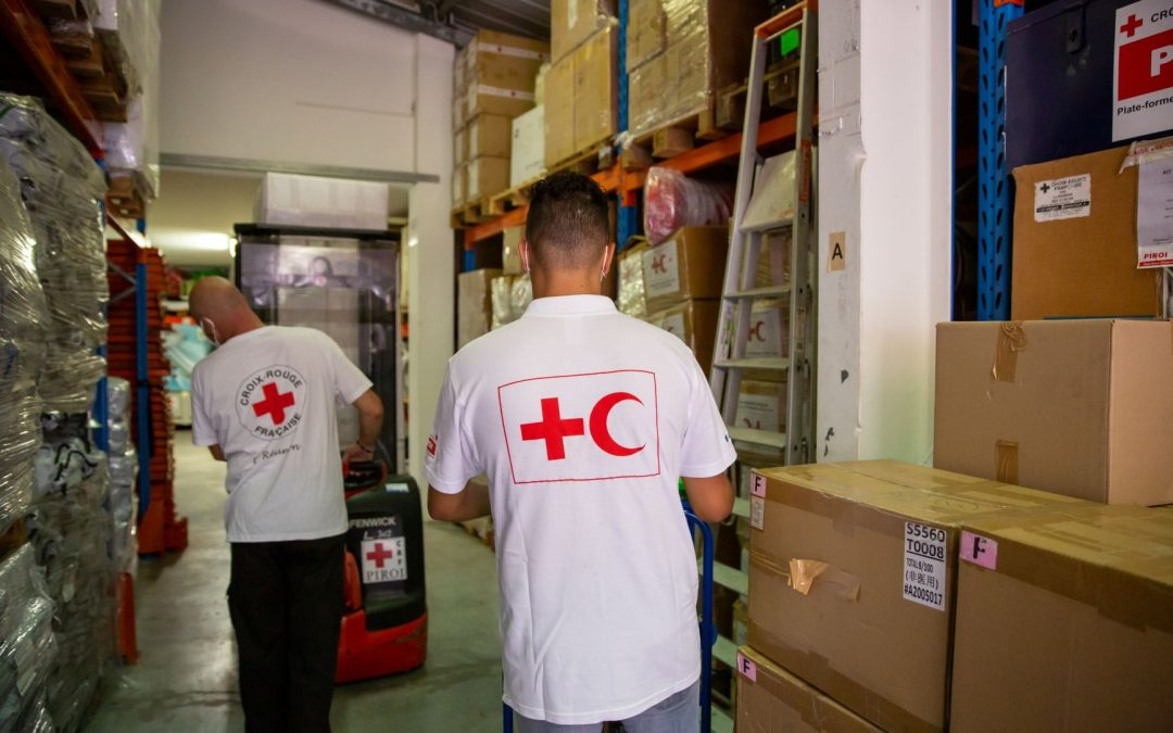 French Red Cross is helping to fight the second wave of COVID-19 in the Comoros