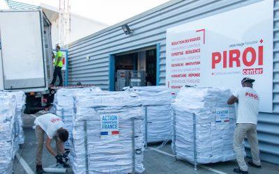 Éruption du Mont Nyiragongo en RDC : la PIROI mobilise ses stocks de matériel d'urgence
