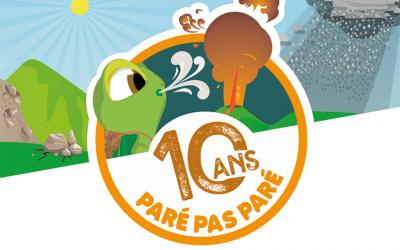 10 ans du projet Paré pas Paré : Événement anniversaire le 24 juillet 2021