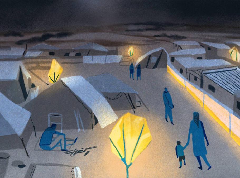 SOLLUNE phosphorescent tarpaulins: an innovative lighting solution is now part of PIROI stocks